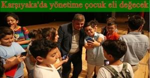 Tugay, Çocuk Belediyesi üyeleriyle buluştu