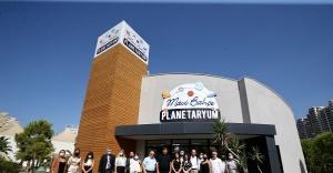 Tugay, çocuklara verdiği sözü tuttu, planetaryum hizmete açıldı