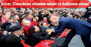 Tunç Soyer Karşıyaka Seçim Ofisi'nin açılışına katıldı