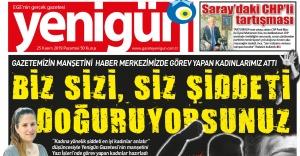"""Türkiye'de bir ilke imza attılar                                                                                                                               """"Kadına şiddeti en iyi kadınlar anlatır"""""""