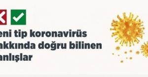 Yeni tip koronovirüs hakkında doğru bilinen yanlışlar