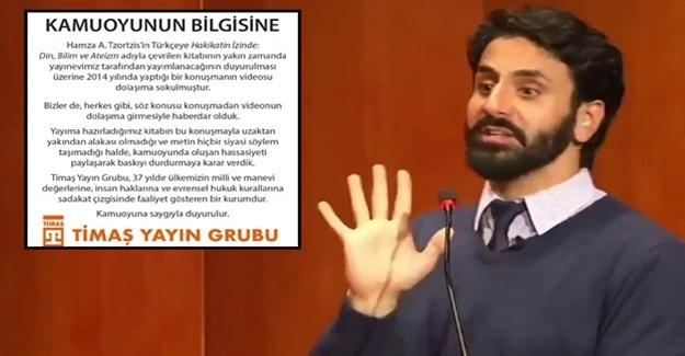 Timaş, Atatürk'e hakaret eden yazarın kitabını basmayacak