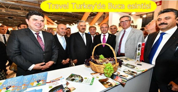 Travel Turkey'de üzüm kokan stant
