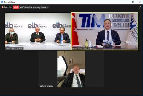 Türk doğal taşı Ortadoğu'ya online pazarlanacak