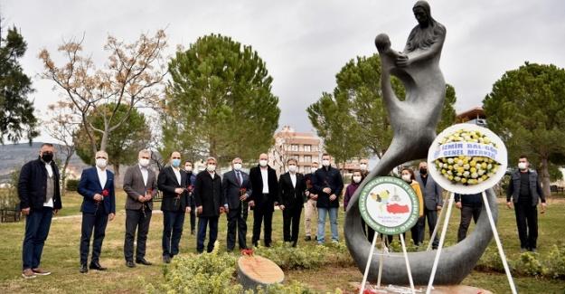 Türkan Bebek Bornova'da adını taşıyan parkta anıldı