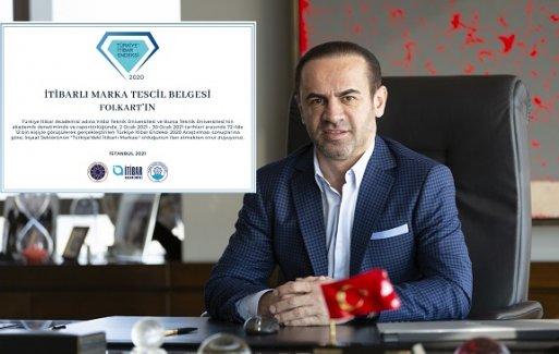 Türkiye İtibar Akademisi, FOLKART'ı en itibarlı markalar arasında gösterdi