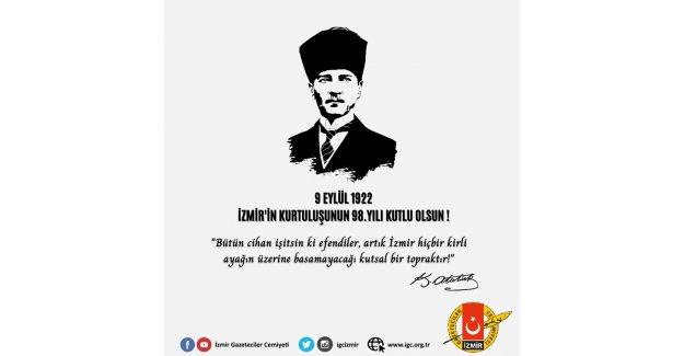 Türkiye'nin Bağımsızlığa Açılan Kapısı 9 Eylül Kutlu Olsun!
