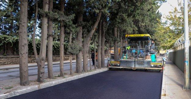 Yasaklar fırsata çevrildi asfalt mesaisi hız kazandı