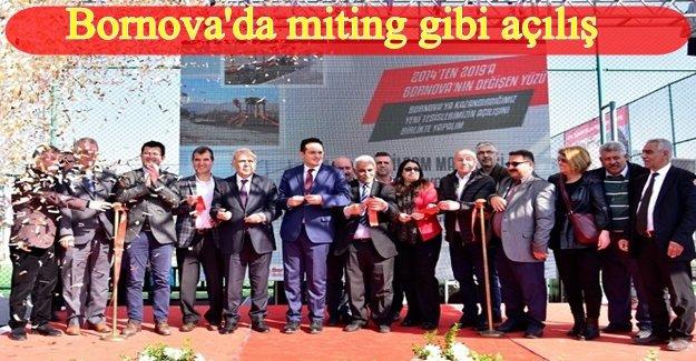 Yeşilçam Mahallesi'de 7 bin metrekarelik rekreasyon alanı hizmete açıldı