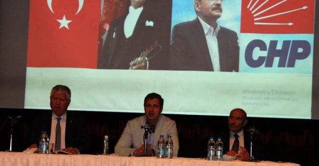 YÜCEL BÜYÜKŞEHİR CHP MECLİS GRUBUNU TOPLADI