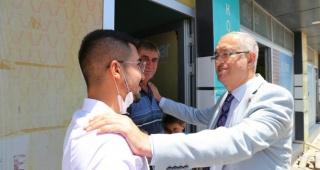 Atila Sertel Niğde'nin köylerinde İzmir tarım modelini anlattı