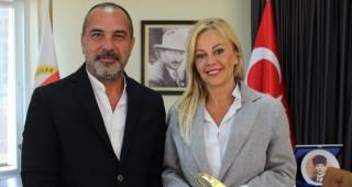 BAŞKAN ÖZTÜRK'TEN İGC ZİYARETİ
