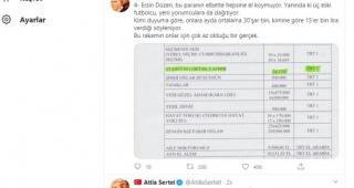 CHP'li Sertel Ersin Düzen'in aldığı maaşı belgeleriyle açıkladı