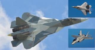 F-35'in alternatifi olarak görülen Rus uçağı Su-57 test uçuşunda düştü