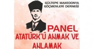Gültepe'de Atatürk Paneli