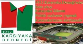 KARŞIYAKA'LI STADINI İSTİYOR