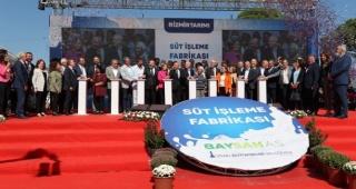 Kılıçdaroğlu, İzmir Tarımı için kaldıraç olacak Bayındır Süt Fabrikası'nın temel atma törenine katıldı
