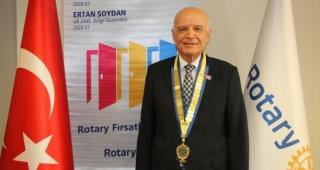 ROTARY'DE ERTAN SOYDAN DÖNEMİ BAŞLADI