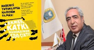 TGS İzmir Şubesi Başkanı Hüner:''Basın özgürlüğü demokrasinin sigortasıdır''