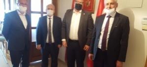 Abdullah Gül ve Süleyman Eruzunlar, Karadağ ile Kosova Ankara Büyükelçiliklerine nezaket ziyaretinde bulundu
