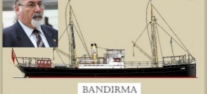 BANDIRMA VAPURU/ TUFAN ATAKİŞİ