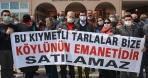 Bergamalı köylülerin arazi direnişine CHP'li Sertel'den destek