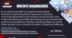 BURHANİYE'DE, BELEDİYE VATANDAŞ EL ELE BAĞIŞ KAMPANYASI
