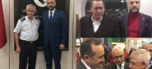 Çete lideri Yılmaz, Jandarma Genel Komutanı ve Erdoğan'ın dünürüyle bir arada