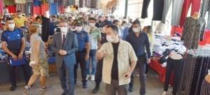 KARŞIYAKA'DA ARALIKSIZ KORONAVİRÜS DENETİMİ