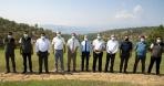 Karşıyaka'daki Yöneticilerden Orman Yangın Ekibine Moral Ziyareti