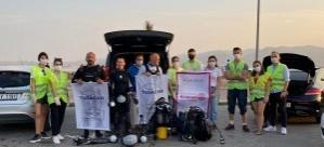Mavişehir Rotary Klüp, Rotaract ve Tuscan'dan Deniz Temizliği