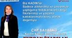 Nurdan Özarslan CHP Bayraklı Kadın Kolları Başkanlığına Adaylığını açıkladı