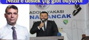 SUAT NEZİR'E İSTANBUL ANADOLU YAKASI BOSNA SANCAK DERNEĞİNDEN DESTEK
