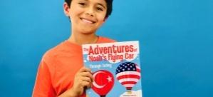 Yaşı 10 ama iki kitap yazdı!