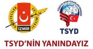 TSYD Başkanı Oğuz Tongsir'in çağrısına İzmir'den cevap geldi