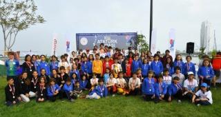 TYF   100.yıl Atatürk Kupası Optimist Yarışları'nda ödüller sahiplerini buldu